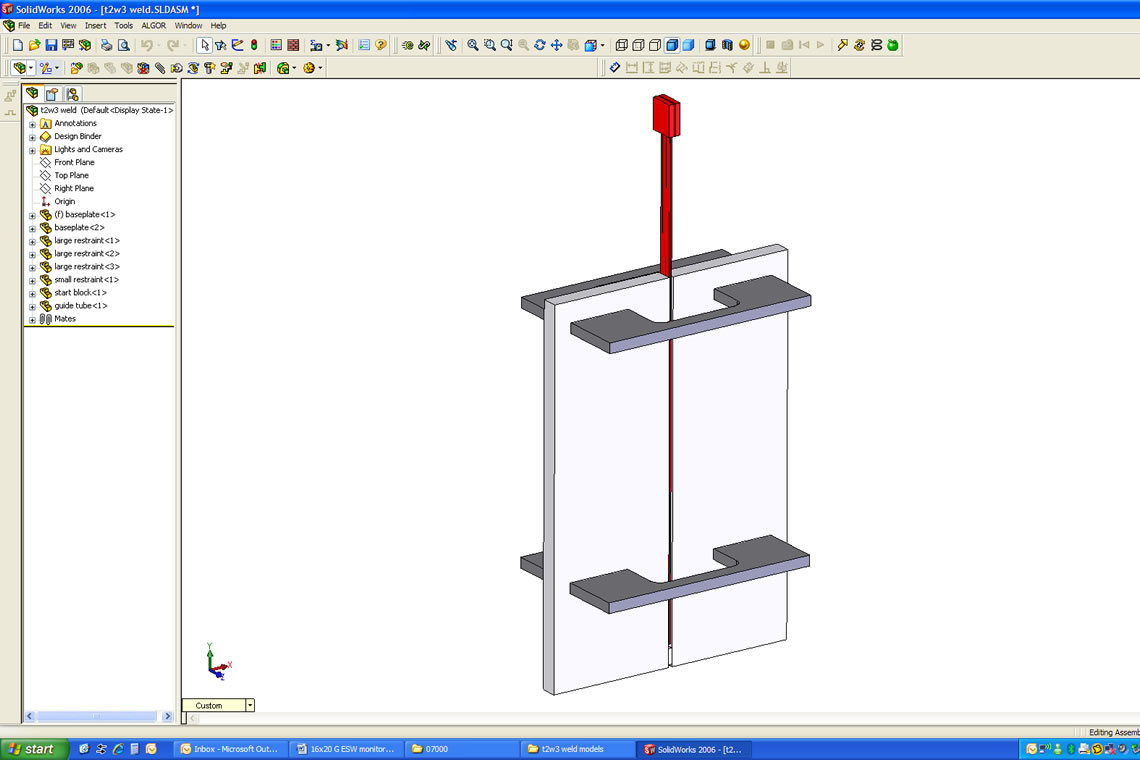 Electroslag Welding Diagram Wiring Library Weld Esw Monitoring System Vgo Inc Project Detail