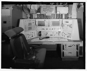 Oscar-Zero Launch Control Console (U.S. Government public domain image)
