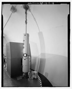 Shock Isolator on Platform in Oscar-Zero Equipment Capsule (U.S. Government public domain image)
