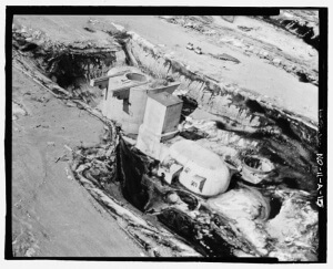 November-33 Minuteman Launch Site during Construction (U.S. Government public domain image)